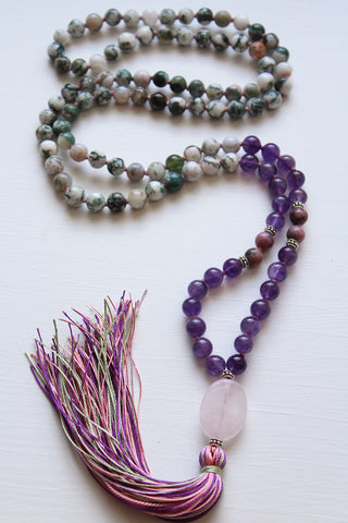 Vibrant Earth Fairy Mala