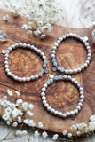 Visionary :: Aquarius Moon Mala Bracelet