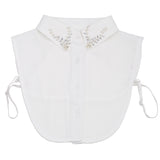White ladies collar bib