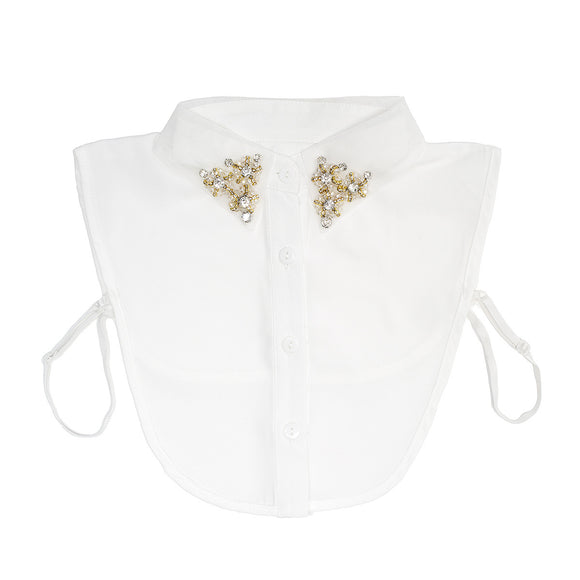 Rose Collar Bib