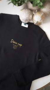 Disco Nap Sweater (Black)
