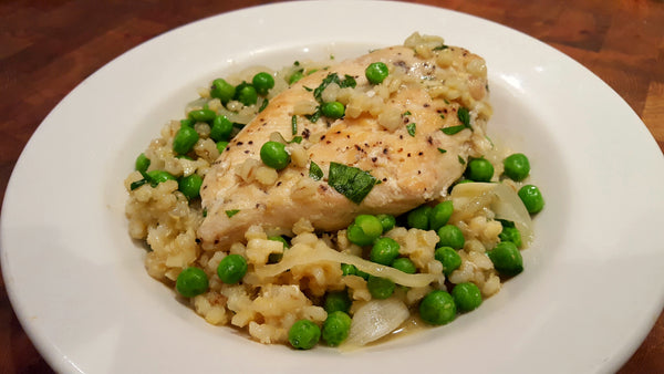 Chicken, Pea & Barley Slow Cooker Recipe