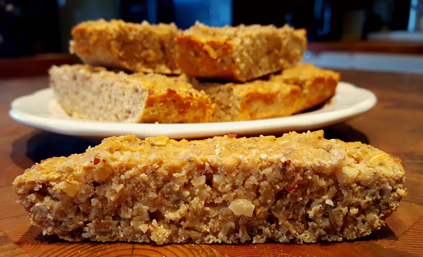 Banana Nut Protein Bars