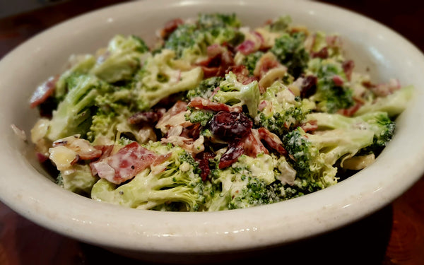 Broccoli Bacon Cranberry Salad
