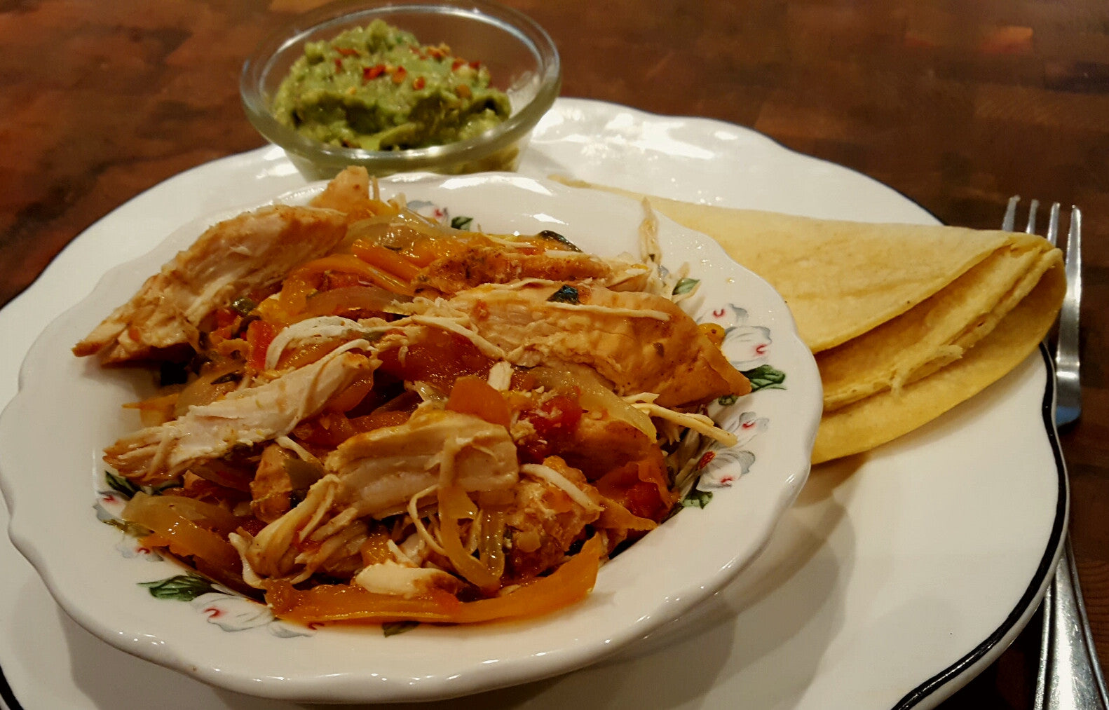 Chicken Fajita Slow Cooker Recipe