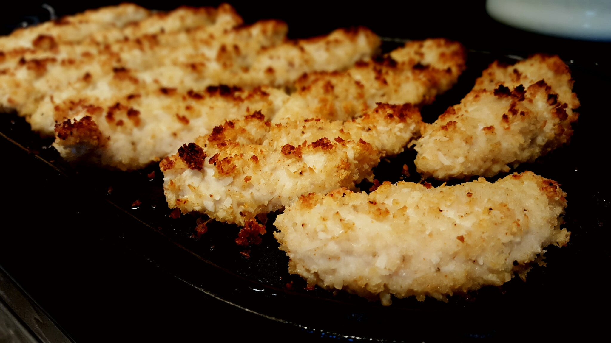 Baked Coconut Chicken Tenders