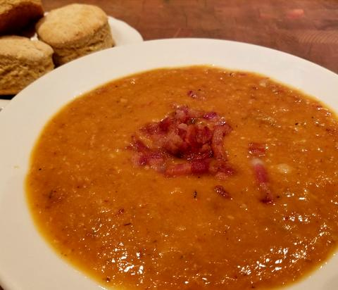 Bean and Bacon Soup Slow Cooker Recipe