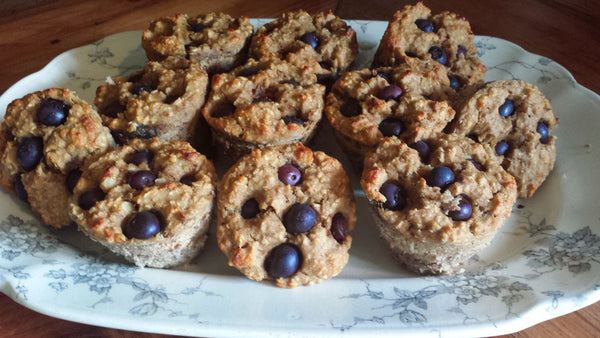 Healthy Low Fat Protein Muffins