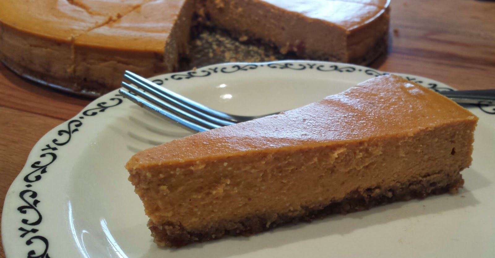 Pumpkin Protein Cheesecake Recipe