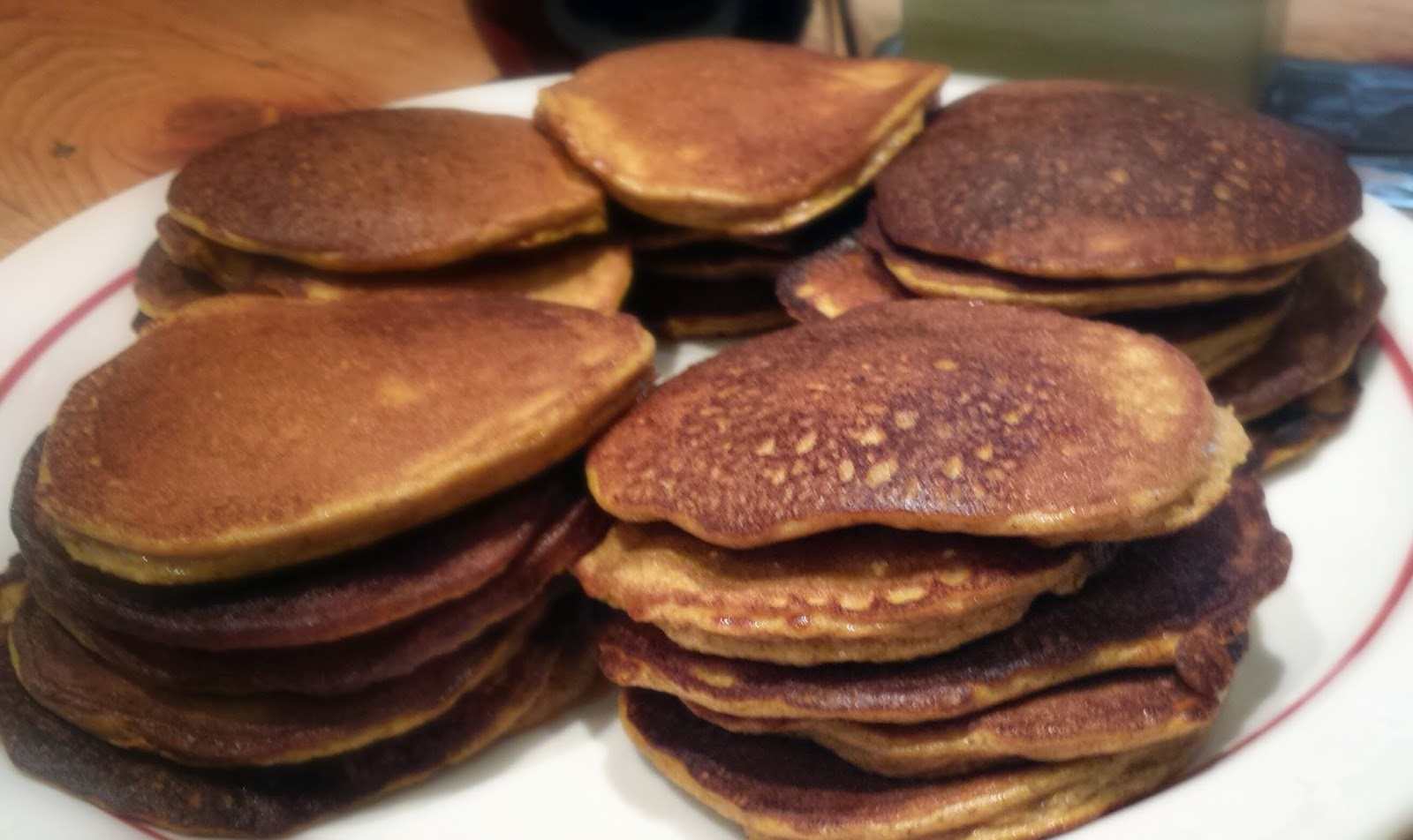 Healthy Pumpkin Protein Pancakes Recipe
