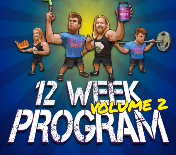 12 Week Plan - Home & Gym Edition