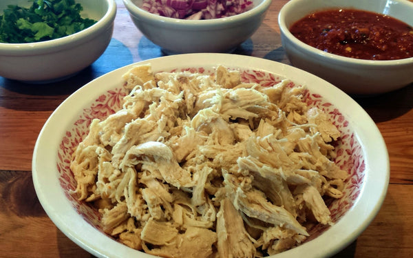 Easy Shredded Chicken Recipe