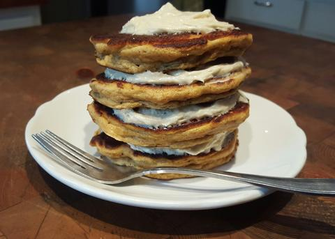Sweet Potato Protein Pancakes