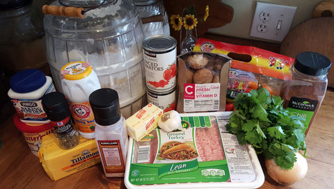 Buff Dudes Turkey Skillet Ingredients