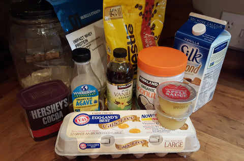 Buff Dudes Evil Dead Brownies Ingredients List