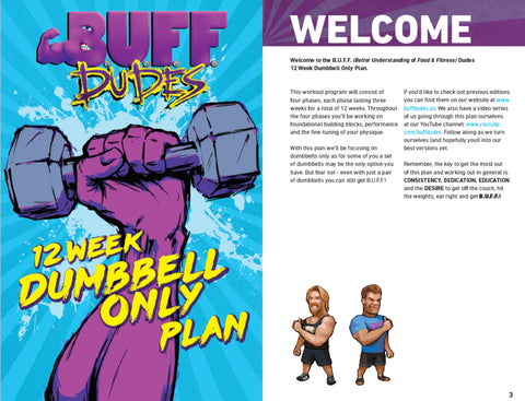Buff Dudes Dumbbell Plan