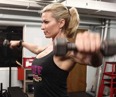 Buff Grrrl Shoulder Workout
