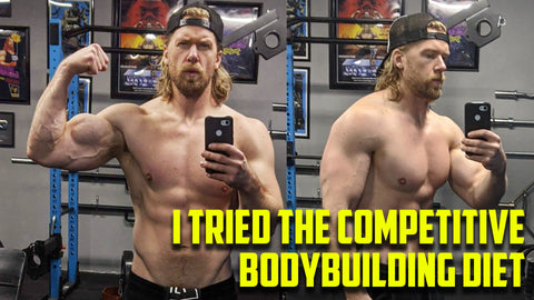 I Tried a Bodybuilding Competitive Diet and Workout for 30 Days Buff Dudes