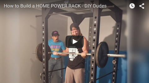 Buff Dudes DIY Power Rack