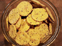 Buff Dudes Sweet Potato Protein Crackers Recipe