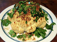 Buff Dudes Whole Roasted Cauliflower Recipe