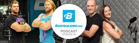 Buff Dudes bodybuilding.com podcast interview