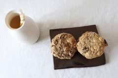 Brooklyn Market Cookies, Chocolate Chip Macadamian Dried Cherry Cookies