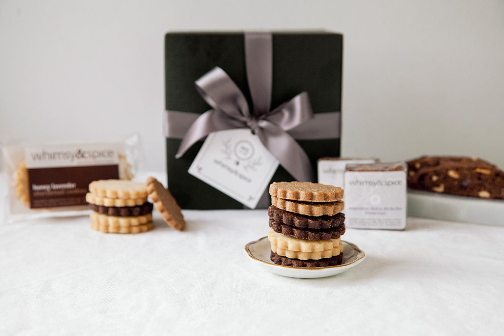 Whimsy & Spice Classic Sampler Cookie gift box