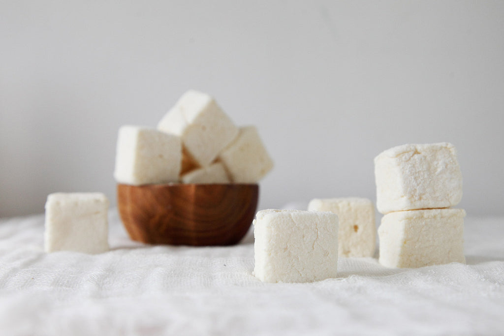 gourmet passionfruit marshmallows