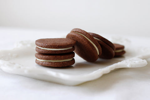 Earl Grey Sandwich Cookies