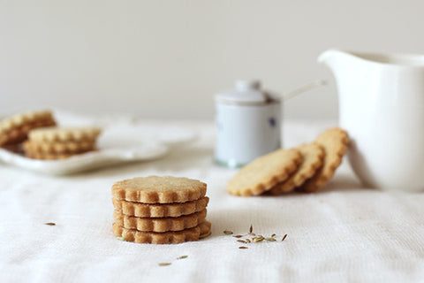 Olive Oil Shortbread Cookies