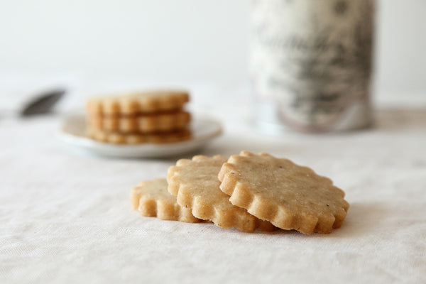 Honey Lavender Shortbread Cookies – Whimsy & Spice