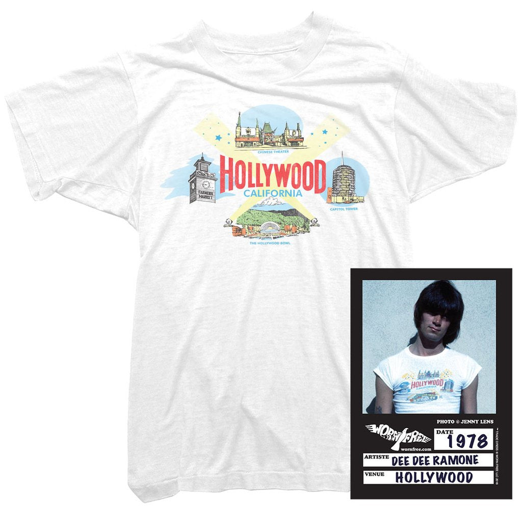 Ramones Hollywood T-Shirt worn by Dee Dee Ramone