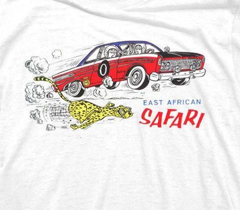 Tom Medley East African Safari Rally T-shirt