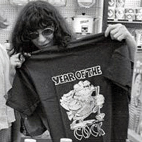 Living on a Chinese Rock: It's our Joey Ramone Year of the Cock T-shirt