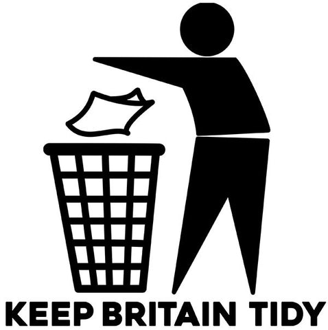 Keep Britain Tidy T-Shirts