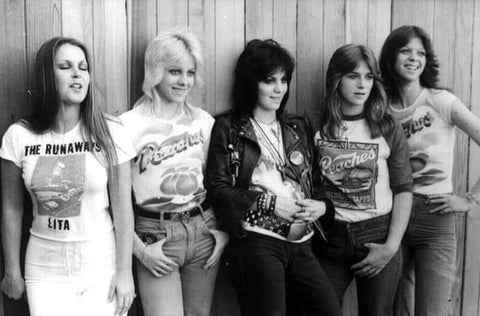 Peaches T-Shirt worn by The Runaways