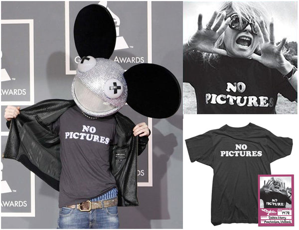 Deadmau5 No Pictures Shirt Grammy Awards Blondie Shirt by Worn Free
