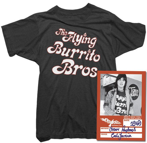 Gram Parsons - Flying Burrito Brothers T-Shirt