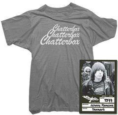 Johnny Ramone, The Ramones, T-shirt - Tee - Shirt - Chatterbox