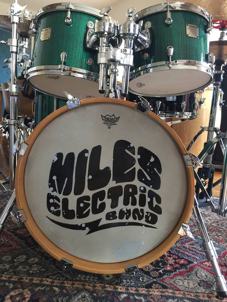 Miles Davis Hoodie - Miles Electric Drum Skin Zip