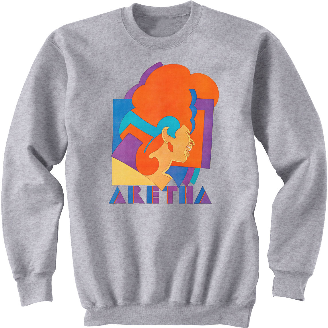 Aretha Franklin Sweat Shirt - Milton Glaser Poster Sweat Shirt
