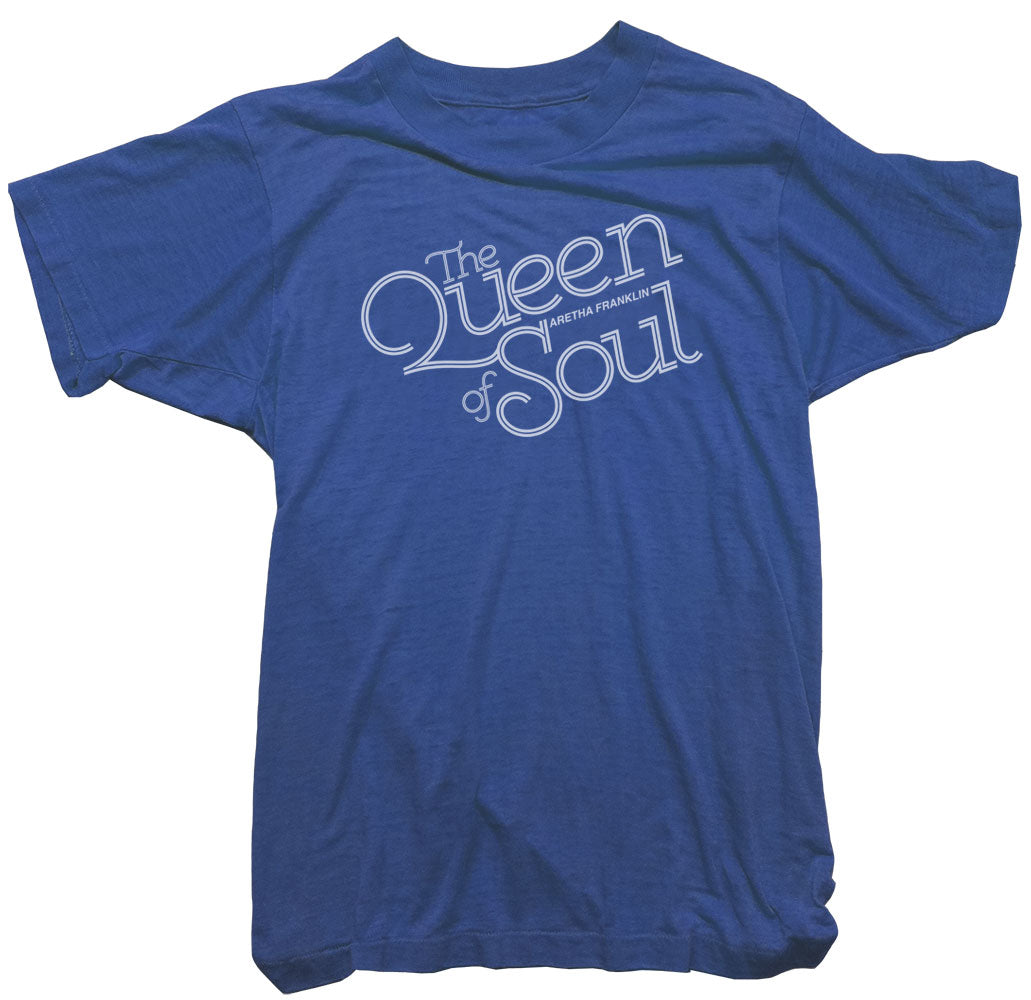 Aretha Franklin T-Shirt -  The Queen of Soul Tee