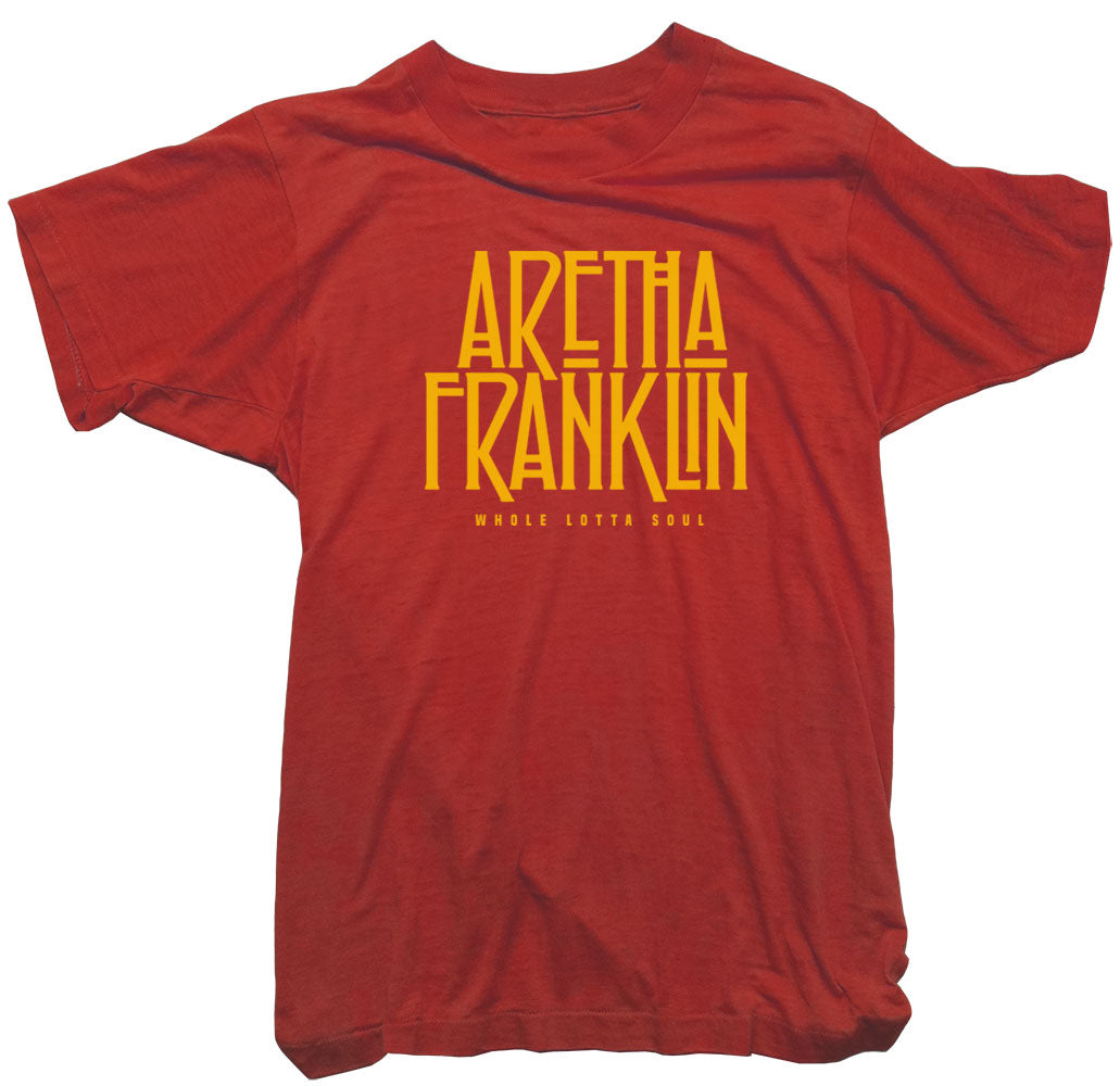 Aretha Franklin T-Shirt -  Whole Lotta Soul Tee