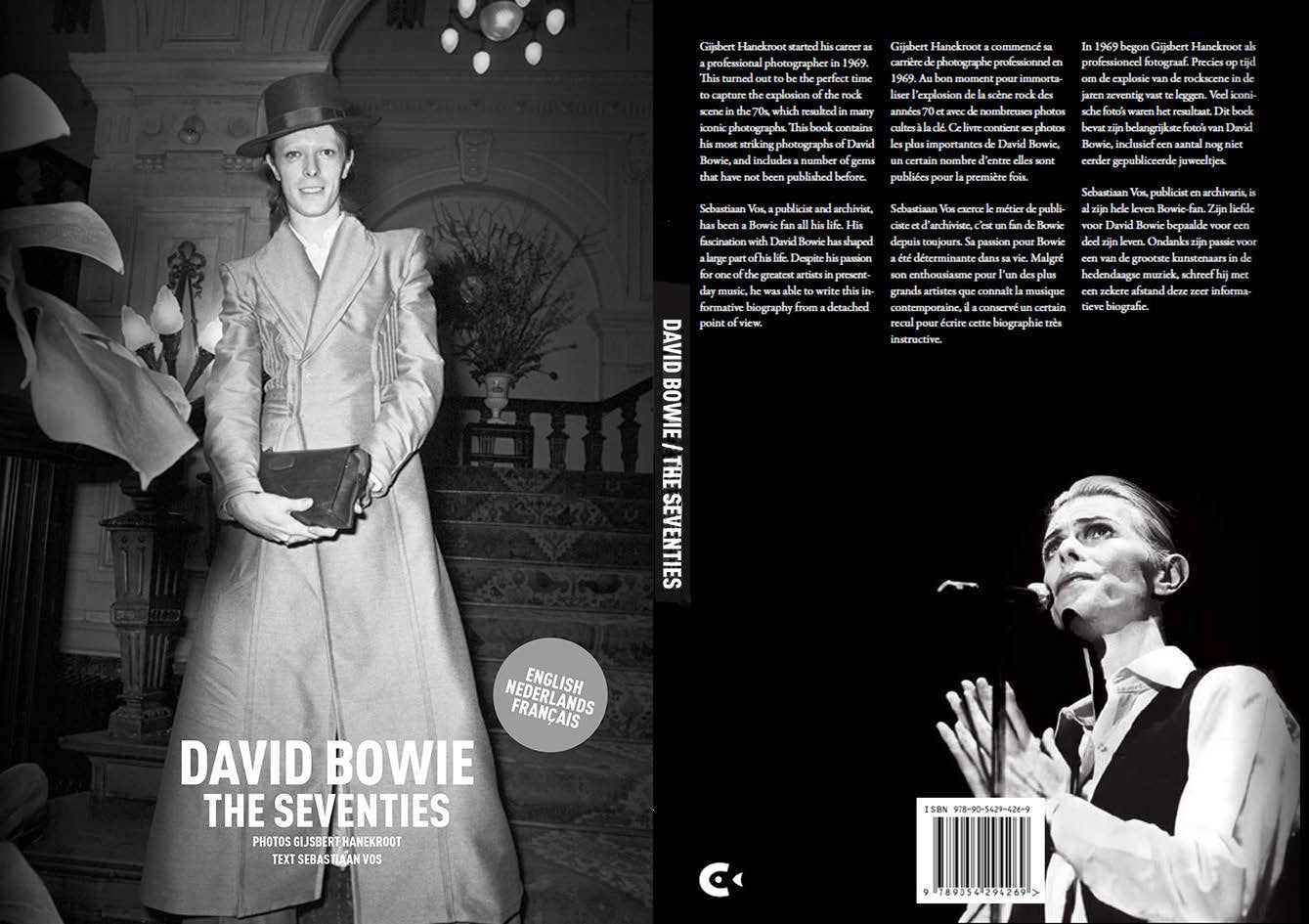David Bowie Photo Book Bowie In The The Seventies Photo Book Signed Worn Free