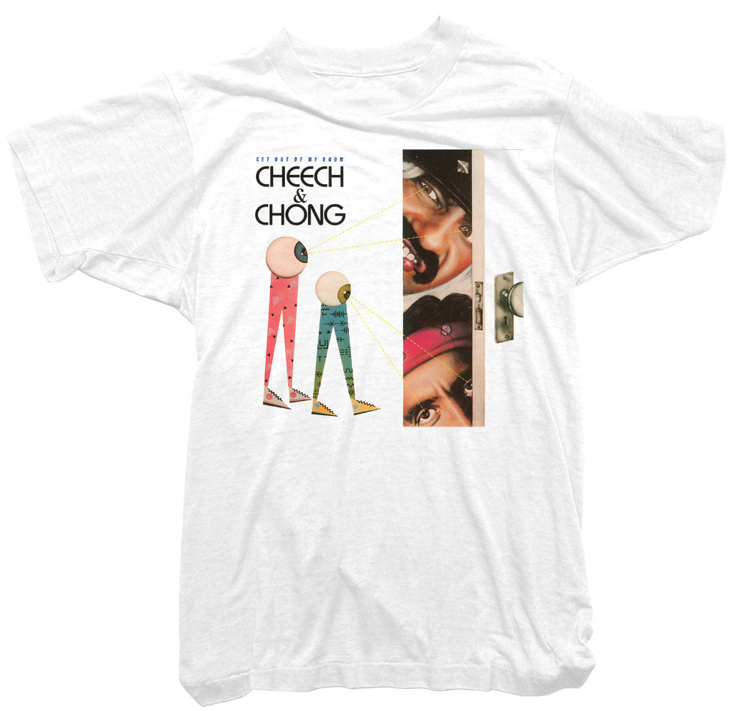 Cheech & Chong T-Shirt - Get out of my room Movie Poster Tee