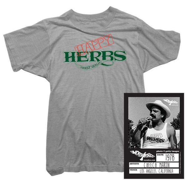 Cheech & Chong - Happy Herbs Tee