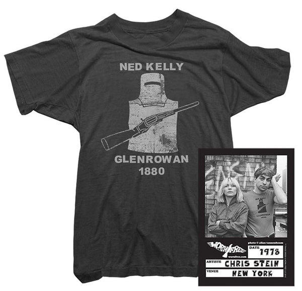 Blondie - Chris Stein Ned Kelly Tee