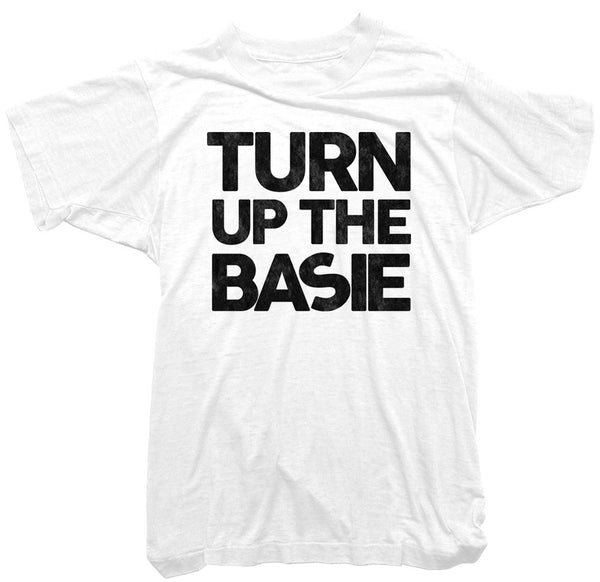 Count Basie - Turn up the Basie Tee