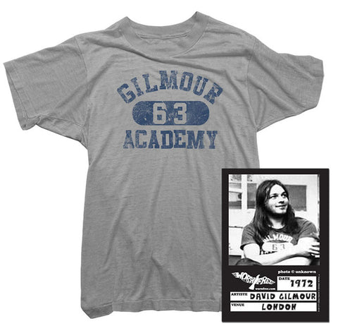 Pink Floyd T-Shirt - Gilmour Academy Tee worn by David Gilmour